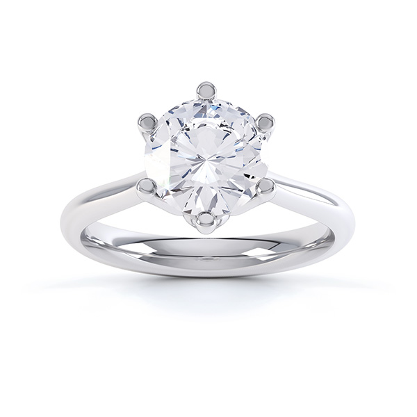Offer 150 solitaire diamond engagement ring